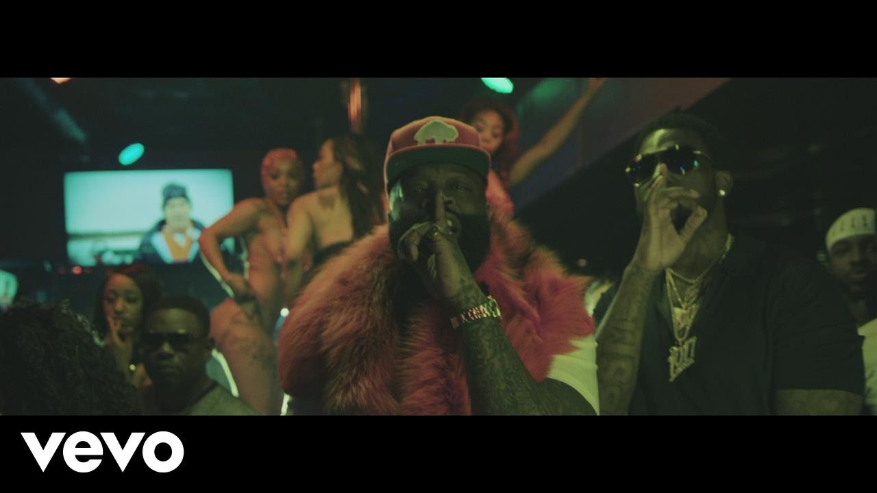 DOWNLOAD VIDEO: Rick Ross Ft  Gucci Mane – She On My Dick