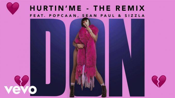 Stefflon Don ft  Sean Paul, Popcaan, Sizzla - Hurtin' Me (Remix