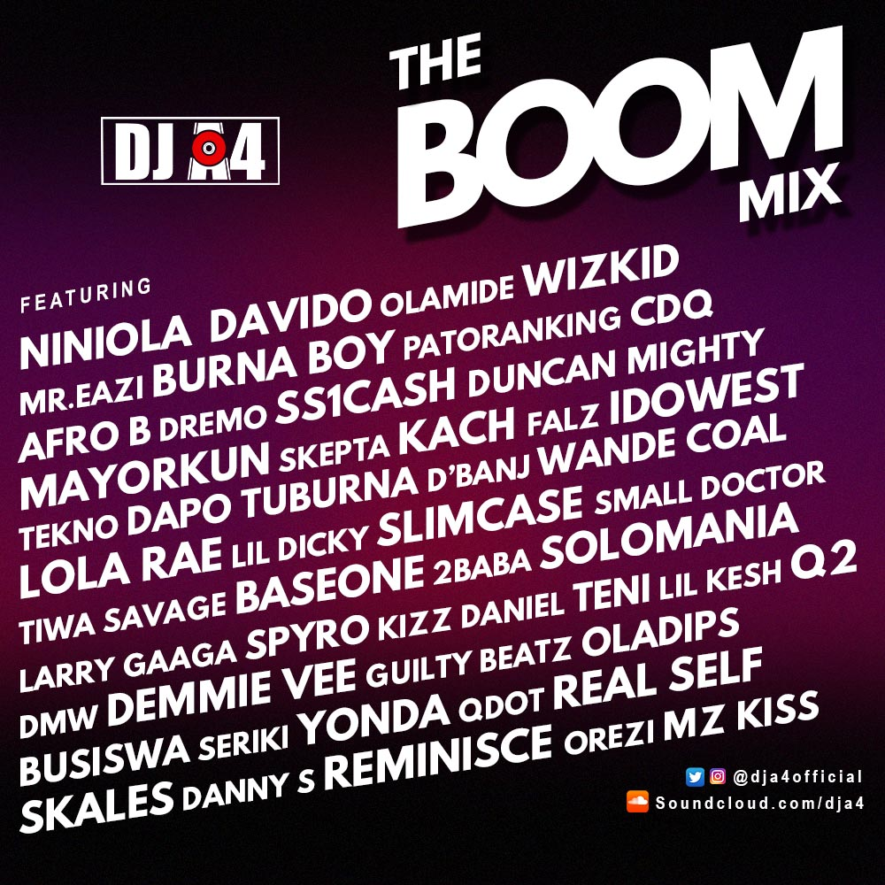 DOWNLOAD: BOOM MIX BY DJ A4 - Abegmusic